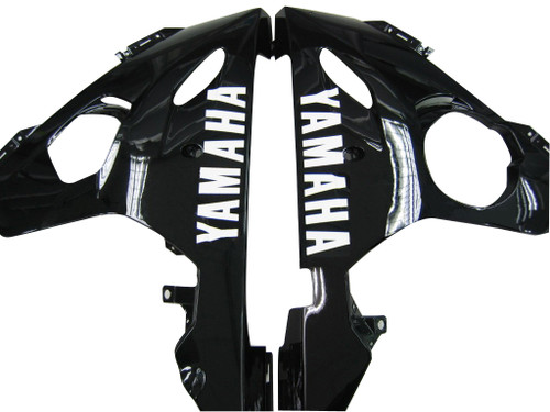 Fairings Yamaha YZF-R6 Black & White R6 Racing (2003-2005)