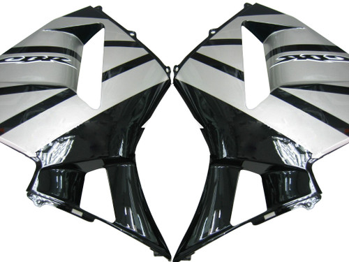 Fairings Honda CBR 600 RR Black & Silver CBR Racing (2003-2004)