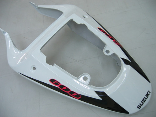 Fairings Suzuki GSXR 600 Black & White GSXR Racing  (2001-2003)
