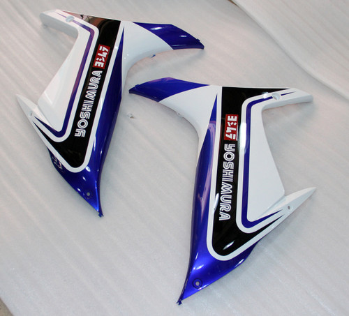 Fairings Plastics Suzuki GSXR600 GSXR750 K11 Black Blue White (2011-2019)