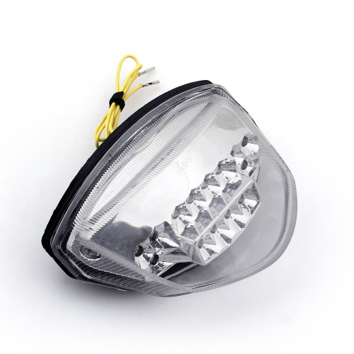 Tail Light with integrated Turn Signals for Suzuki GSXR 1000 (2007-2008) Clear