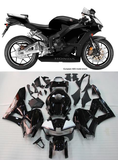 Fairings Honda CBR600RR Black CBR Racing (2013-2016)