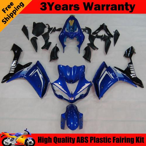 Fairings Yamaha YZF-R1 Blue Black R1 Racing (2007-2008)