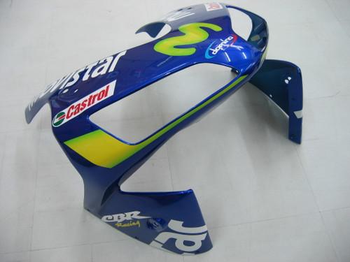 Fairings Honda CBR 600 RR Blue & Green Movistar Racing (2003-2004)