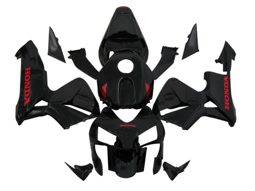Fairings Honda CBR 600 RR Black Honda Racing (2003-2004)