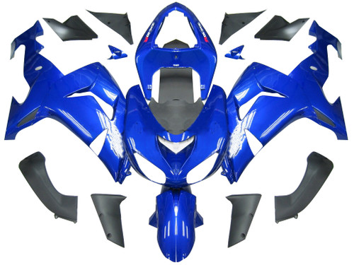 Fairings Kawasaki ZX 10R Blue Ninja Racing (2006-2007)