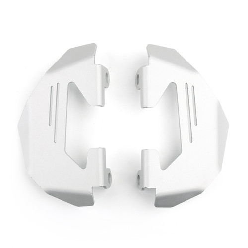Aluminum Front Brake Caliper Cover Guard Fits For BMW R1200GS LC Adventure 14-19 R nineT 14-20 S1000XR Silver