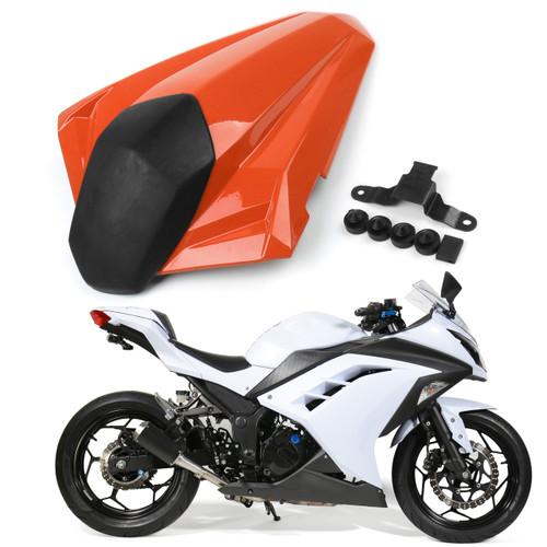 Seat Cowl Rear Seat Cover Kawasaki Ninja 300 EX300 ABS (2013-2014), Orange