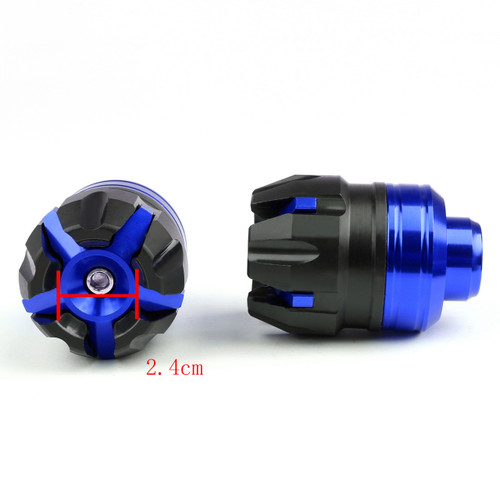 Fork Cups Scooter Front wheel Drop Resistance Motorcycle Aluminium Universal, Blue