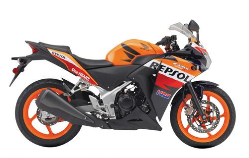 Fairings Honda CBR250R Repsol Orange Racing (2011-2015)