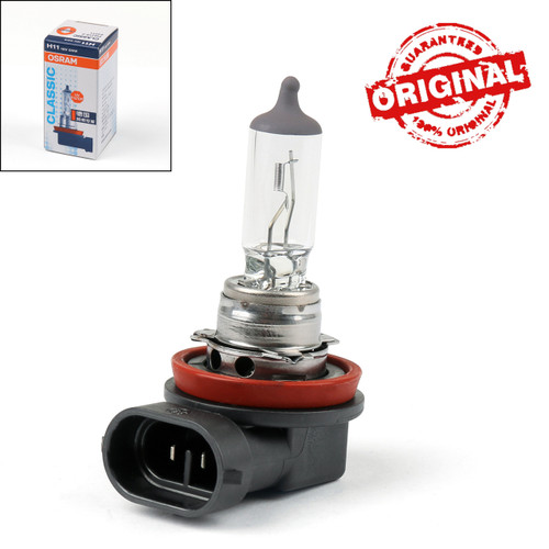 Genuine OSRAM H11 64211 12V 55W PGJ19-2 Halogen Headlight Lamp Bulb For Cars
