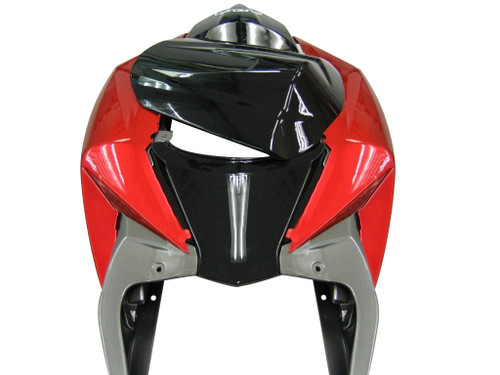 Fairings Suzuki GSXR 600 750 Black Red Silver Racing  (2008-2009)