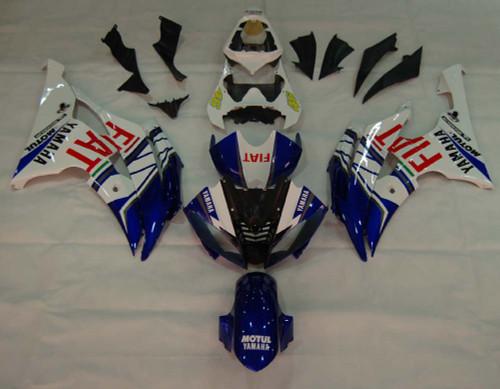 2008-2016 Fairings Yamaha  YZF-R6 White Blue No.46 FIAT R6 Racing