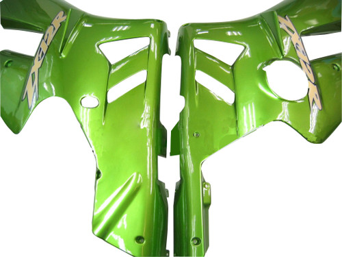Fairings Kawasaki ZX12R Green Metallic ZX12R Racing (2002-2004)