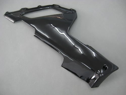 Fairings Kawasaki ZX6R ZX636 Black Ninja Racing  (2007-2008)