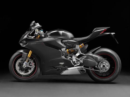 Fairings Ducati 1199 Panigale Black Matte 1199 Racing (2012-2015)