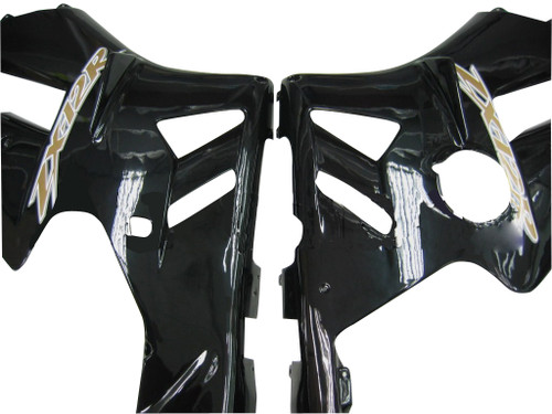 Fairings Kawasaki ZX12R Black ZX12R Racing (2002-2004)