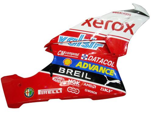 Fairings Ducati 999 Red & White Xerox Racing (2003-2004)
