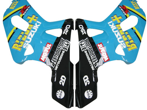 Fairings Suzuki GSXR 600 Blue & Black Rizla GSXR Racing  (2001-2003)