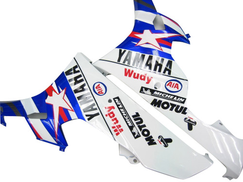 Fairings Yamaha YZF-R6 Blue Star FIAT R6 Racing (2006-2007)