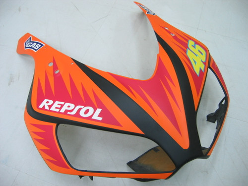 Fairings Honda CBR 1000 RR Black Yellow Valentino Rossi  Racing (2006-2007)