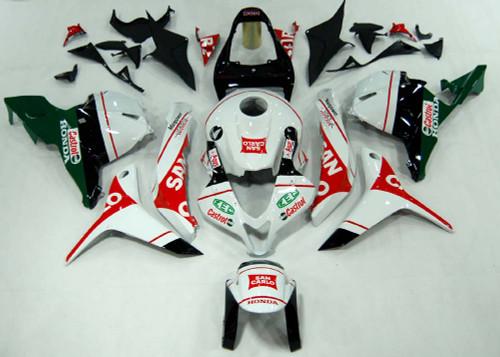 Fairings Honda CBR 600 RR Multi-Color San Carlo Racing (2009-2012)