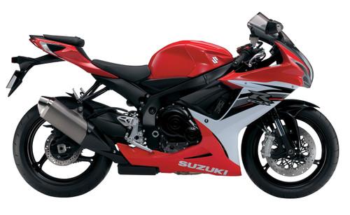 Fairings Plastics Suzuki GSXR600 GSXR750 K11 Red White GSXR (2011-2019)