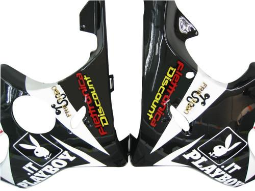 Fairings Honda CBR 600 F4i Black Playboy Racing (2004-2007)