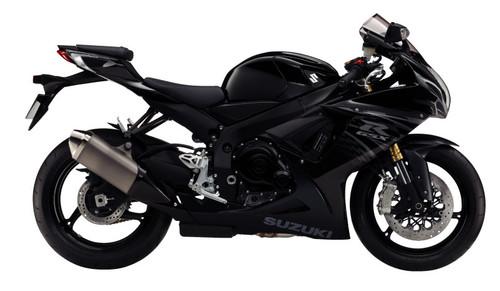 Fairings Plastics Suzuki GSXR600 GSXR750 K11 Black Checkered GSXR (2011-2019)
