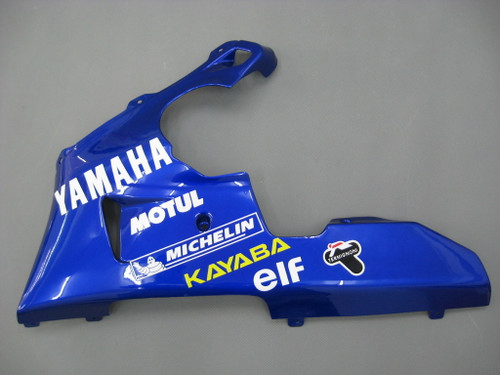 Fairings Yamaha YZF-R1 Blue No.46 GO!!!!!!  R1 Racing (1998-1999)