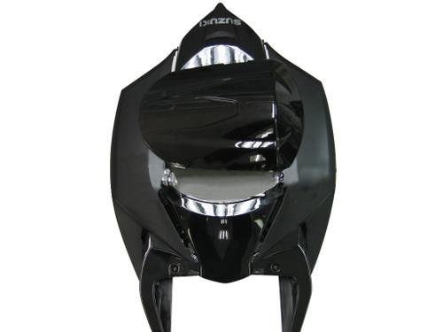 Fairings Suzuki GSXR 600 750 All Black Suzuki Racing  (2008-2009)