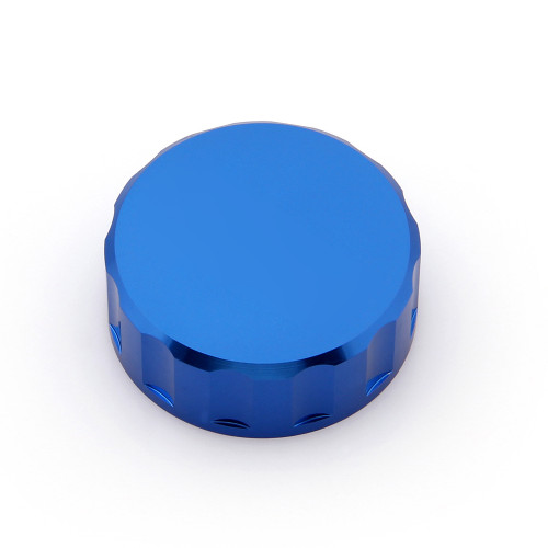 CNC Master Cylinder Fluid Oil Reservoir Brake Clutch Tank Kawasaki ZX 9R 14R (All Year) Blue