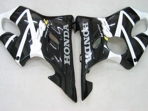 Fairings Honda CBR 600 F4i Black & White F4i Racing (2004-2007)