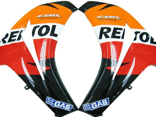 Fairings Honda CBR 1000 RR Black & Orange Repsol Racing (2008-2011)