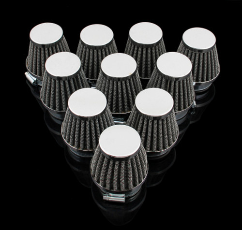 Air Filter 42mm 10PCS Honda Kawasaki Suzuki Yamaha LIFAN SHINERAY SYM