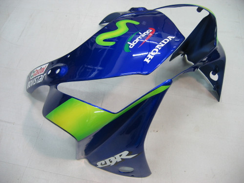 Fairings Honda CBR 954 RR Blue & Green Movistar Racing (2002-2003)