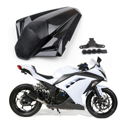 Seat Cowl Rear Seat Cover Kawasaki Ninja 300 EX300R ABS (2013-2014), Carbon