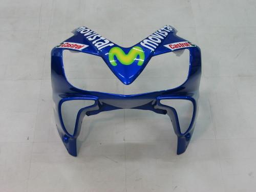 Fairings Honda CBR 600 F4i  Blue & Green Movistar Racing (2004-2007)