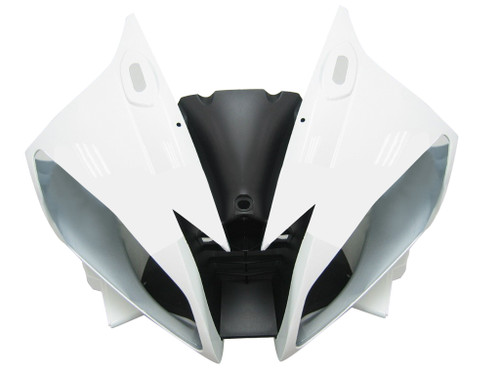 Fairings Yamaha YZF-R6 White Black R6 Racing (2006-2007)