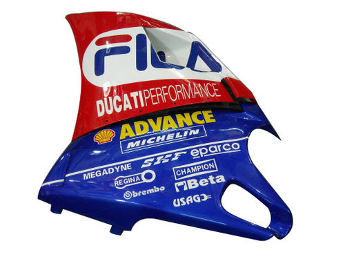 Fairings Ducati 996 Red White Blue Fila Racing (1994-2002)