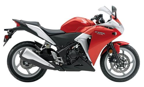Fairings Honda CBR250R Red Silver CBR Racing (2011-2015)