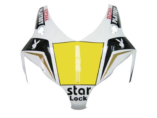 Fairings Honda CBR 1000 RR Black White Playboy Racing (2008-2011)