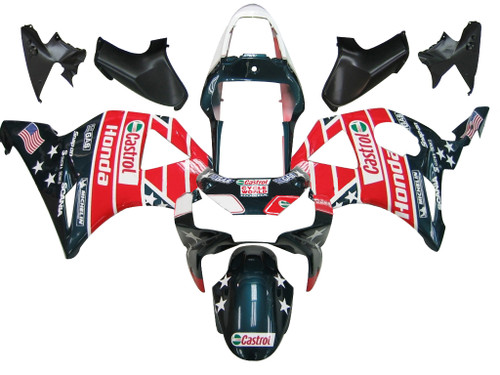 Fairings Honda CBR 954 RR Multi-Color Castrol Honda Racing (2002-2003)