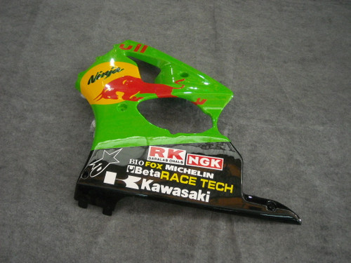 Fairings Plastics Kawasaki ZX6R 636 Green Racing (2000-2002)
