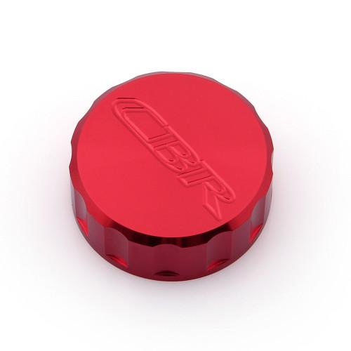 CNC Brake Fluid Reservoir Cap Honda CBR600RR CBR1000RR CBR900RR CBR929RR CBR954RR (All Year) Red