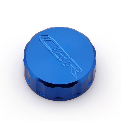 CNC Brake Fluid Reservoir Cap Honda CBR600RR CBR1000RR CBR900RR CBR929RR CBR954RR (All Year) Blue