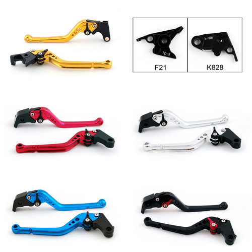 Standard Staff Length Adjustable Brake Clutch Levers Kawasaki Z750 (NOT for Z750S) 2007-2012
