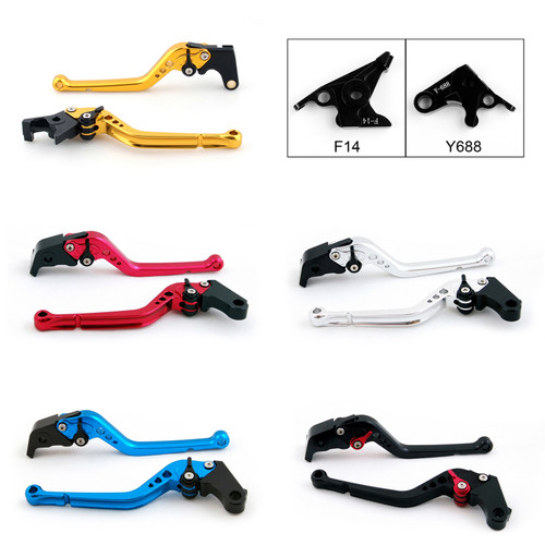 Standard Staff Length Adjustable Brake Clutch Levers Yamaha R6S CANADA VERSION 2007-2009
