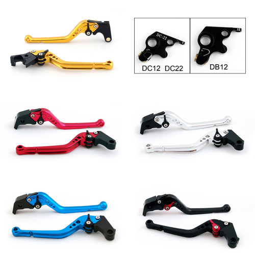 Standard Staff Length Adjustable Brake Clutch Levers Ducati 900SS 1991-1997 (DB-12/DC-12)