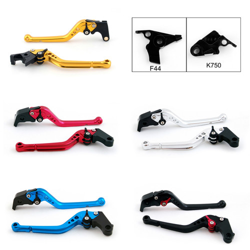 Standard Staff Length Adjustable Brake Clutch Levers Kawasaki ER6N ER6F 2009-2016 (F-44/K-750)